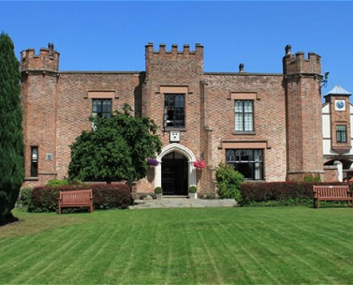 Crabwall Manor Chester exterior