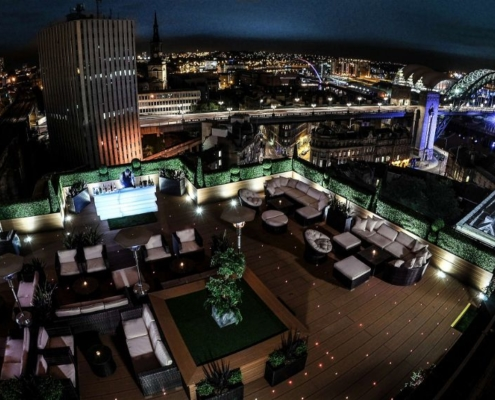 The Vermont Hotel Sky Lounge