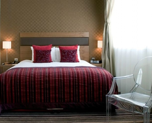 Double Room at the Leopold Hotel